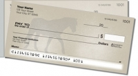 Click on Horse Silhouette Side Tear Personal Checks For More Details
