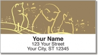 Click on Cat Sketch Address Labels For More Details