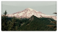 Click on Snowcapped Mountain Checkbook Cover For More Details