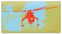 Click on Sky Crane Helicopter Checkbook Cover For More Details