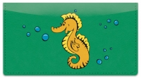Click on Silly Seahorse Checkbook Cover For More Details