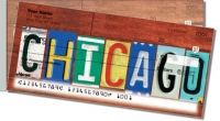 Click on Illinois License Plate Side Tear Personal Checks For More Details