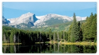Click on Scenic Mountain Checkbook Cover For More Details
