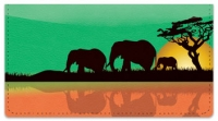 Click on Safari at Sunset Checkbook Cover For More Details