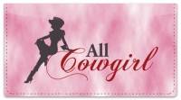 Click on Rodeo Cowgirl Checkbook Cover For More Details