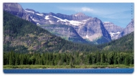 Click on Rocky Mountains Checkbook Cover For More Details