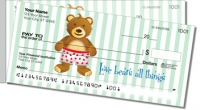 Click on Cuddly Teddy Bear Side Tear Personal Checks For More Details