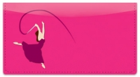Click on Ribbon Dancing Checkbook Cover For More Details