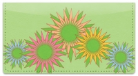 Click on Retro Sunflower Checkbook Cover For More Details