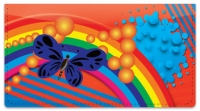 Click on Retro Rainbow Checkbook Cover For More Details
