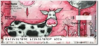 Click on I Love Moo Personal Checks For More Details
