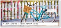 Click on Bicycle Art Personal Checks For More Details