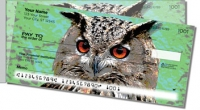 Click on Eyes of an Owl Side Tear Personal Checks For More Details