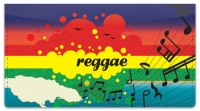 Click on Reggae Music Checkbook Cover For More Details
