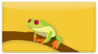 Click on Red-Eyed Frog Checkbook Cover For More Details
