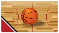 Click on Red & Black Basketball Checkbook Cover For More Details