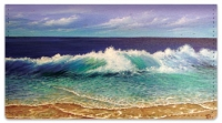Click on Crashing Wave Checkbook Cover For More Details