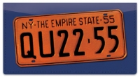Click on New York License Plate Checkbook Cover For More Details