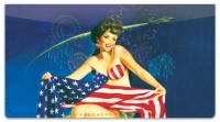 Click on Pin Up Girl Checkbook Cover For More Details