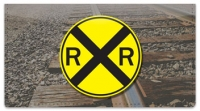 Click on Railroad Crossing Checkbook Cover For More Details