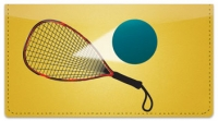 Click on Racquetball Checkbook Cover For More Details