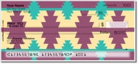 Click on Southwestern Style Personal Checks For More Details