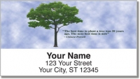 Click on Arbor Day Quote Address Labels For More Details