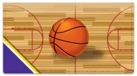 Click on Purple & Gold Basketball Checkbook Cover For More Details