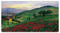 Click on Tuscany Checkbook Cover For More Details