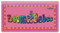 Click on Boomer Babes Checkbook Cover For More Details