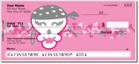 Click on Girly Skull Personal Checks For More Details