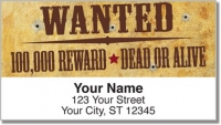 Click on Wild West Address Labels For More Details