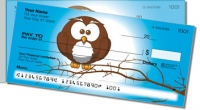 Click on Cartoon Owl Side Tear Personal Checks For More Details