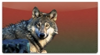 Click on Wolf Checkbook Cover For More Details
