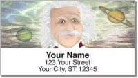 Click on Albert Einstein Address Labels For More Details