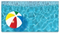 Click on Pool Toy Checkbook Cover For More Details