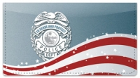 Click on Police Force Checkbook Cover For More Details