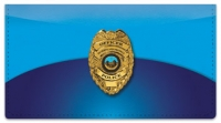 Click on Police Checkbook Cover For More Details