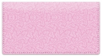 Click on Pink Leaves Checkbook Cover For More Details