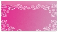 Click on Pink Leaf Border Checkbook Cover For More Details