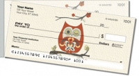 Click on Country Owl Side Tear Personal Checks For More Details