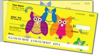 Click on Colorful Owl Side Tear Personal Checks For More Details