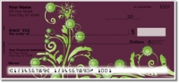 Click on Swirl Flower Personal Checks For More Details