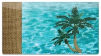 Click on Peaceful Palm Tree Checkbook Cover For More Details
