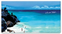 Click on Beach Scene Checkbook Cover For More Details
