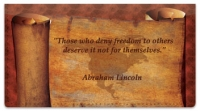 Click on Patriotic Quote Checkbook Cover For More Details
