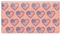 Click on Patriotic Heart Checkbook Cover For More Details