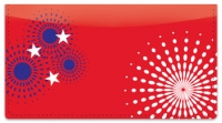 Click on Patriotic Fireworks Checkbook Cover For More Details