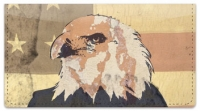 Click on Patriotic Eagle Checkbook Cover For More Details