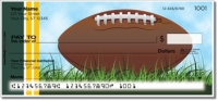 Click on Green & Gold Football Fan Checks For More Details